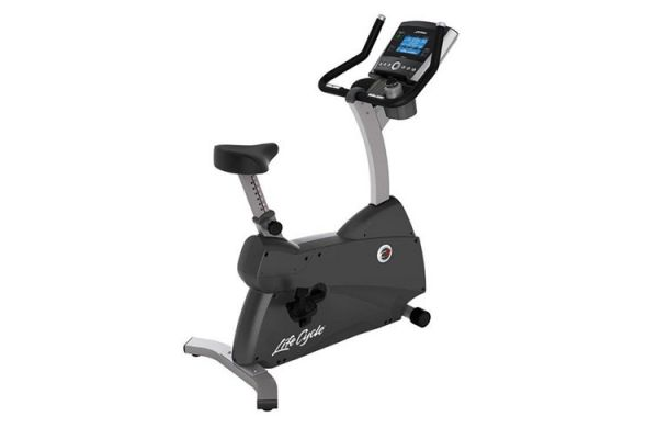 Large image of Life Fitness C3 Lifecycle Excercise Bike with Go Console - C3PACKAGE1