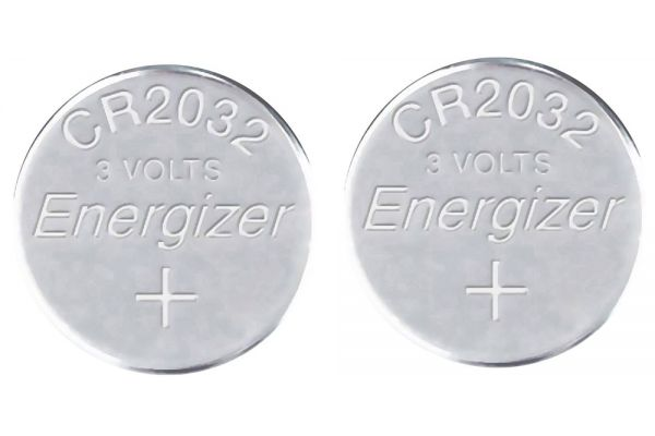Energizer Lithium Coin Battery (2 Pack) - CR2032-2PACK-E