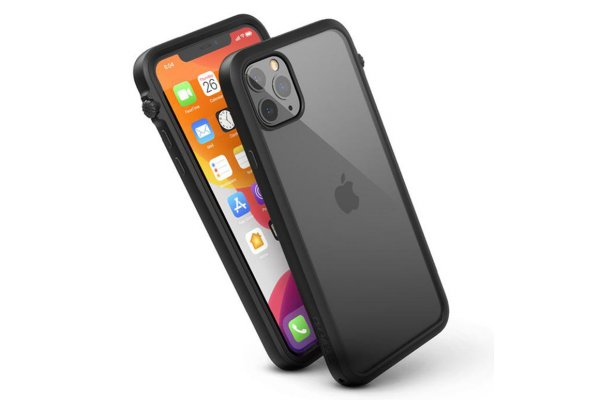 Large image of Catalyst Impact Protection Stealth Black Case For iPhone 11 Max - CATDRPH11BLKL