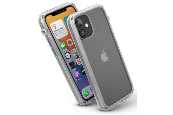 Large image of Catalyst Influence Clear Case For iPhone 12 mini - CATDRPH12CLRS