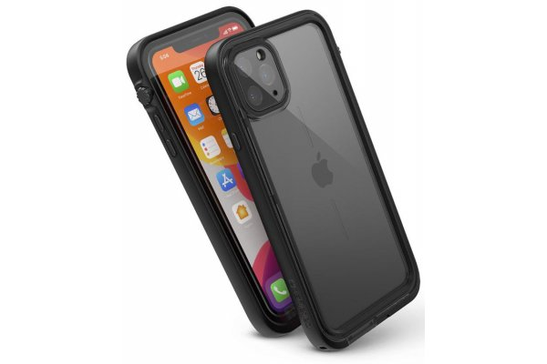 Large image of Catalyst Stealth Black Waterproof Case for iPhone 11 Pro Max - CATIPHO11BLKL