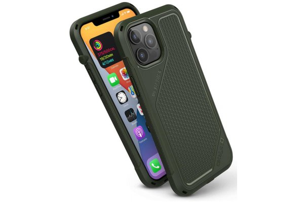 Large image of Catalyst Vibe Army Green Case For iPhone 12 Pro Max - CATVIBE12GRNL