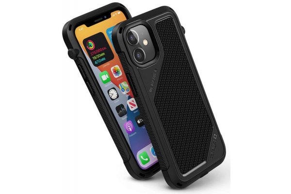 Large image of Catalyst Vibe Stealth Black Case For iPhone 12 mini - CATVIBE12BLKS