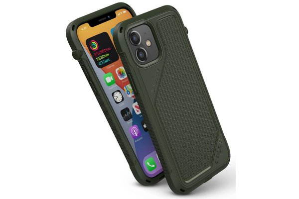 Large image of Catalyst Vibe Army Green Case For iPhone 12/12 Pro - CATVIBE12GRNM