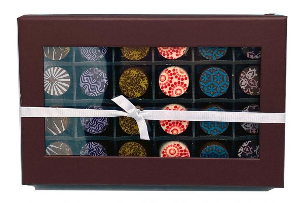 Large image of Chocolate Works 24pc Assorted Chocolate Truffles - 160