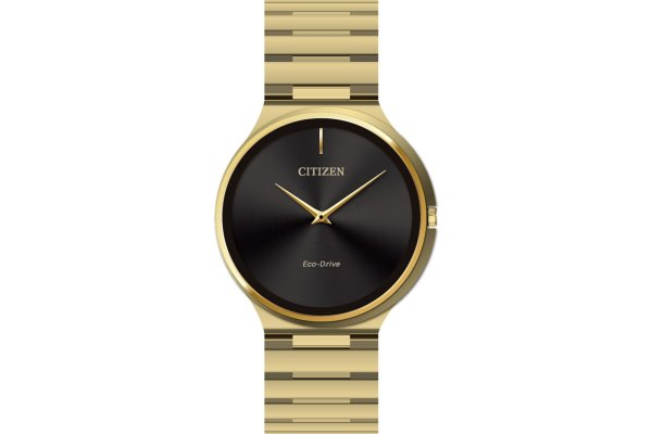 Large image of Citizen Stiletto Gold-Tone Stainless Steel Watch, 39mm - AR311257E