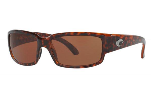 Large image of Costa Del Mar Caballito Copper Polarized Sunglasses, Tortoise Frames, 59mm - 06S90250159