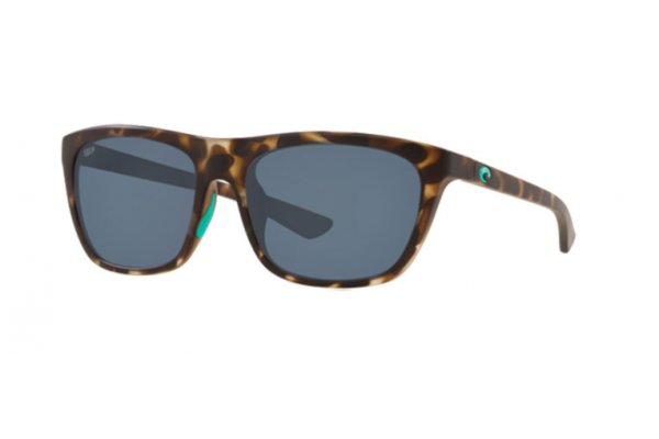 Large image of Costa Del Mar Cheeca Polarized Sunglasses, Matte Shadow Tortoise Frames, 57mm - 06S90050357
