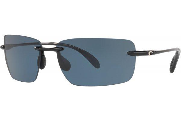 Large image of Costa Del Mar Gulf Shore Polarized Sunglasses, Grey Lenses, 66mm - 06S90740266