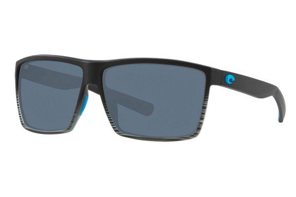 Large image of Costa Del Mar Rincon Matte Smoke Crystal Fade Polarized Sunglasses, 63mm - 06S90180963
