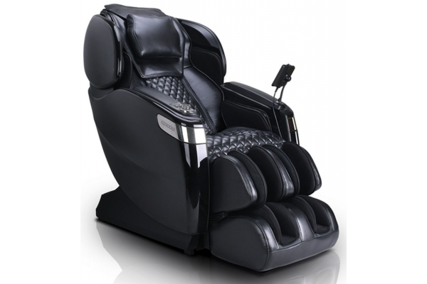 Large image of Cozzia Qi XE Triple Black Reclining Massage Chair - CZ-715-2929