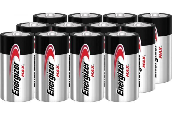 Energizer MAX D Alkaline Battery (12 Pack) - D12PACK-E