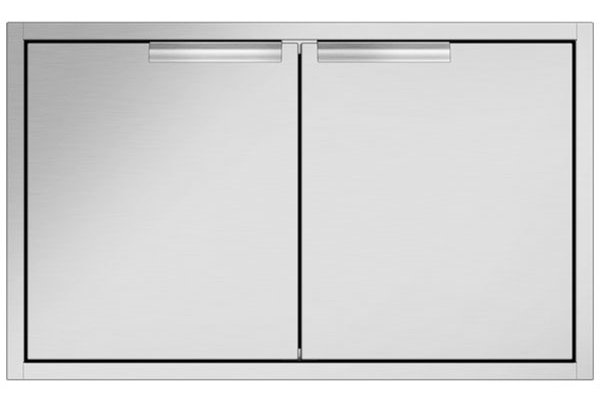 Large image of DCS Built-In Brushed Stainless Steel Access Doors - ADN1-20X36