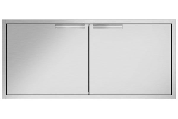 Large image of DCS Built-In Brushed Stainless Steel Access Doors - ADN1-20X48