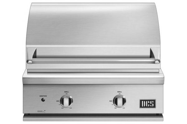 """Large image of DCS 30"""" Stainless Steel Built-In Natural Gas Grill - BGC30-BQ-N"""