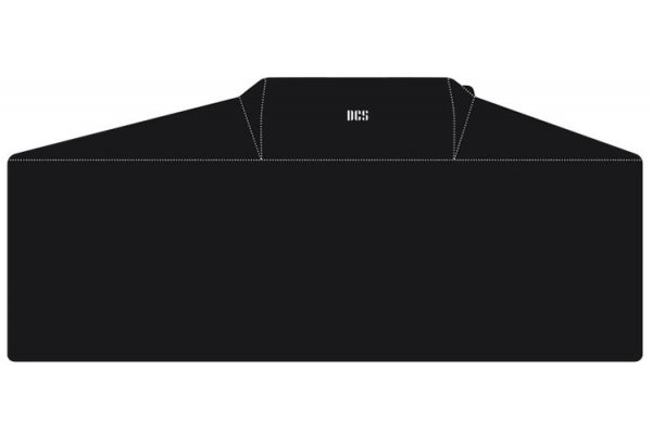 "Large image of DCS 48"" Black On Cart Vinyl Cover With Side Burner - ACC-48SB"
