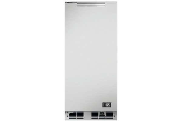 """Large image of DCS 15"""" Stainless Steel Outdoor Clear Ice Maker - RF15IL1"""