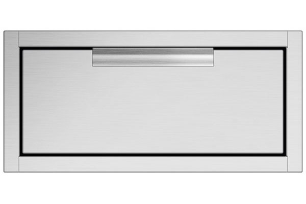 Large image of DCS Stainless Steel Tower Drawer Single - TDS1-20