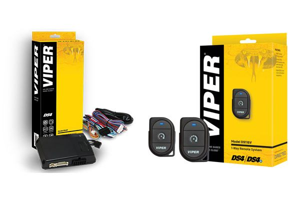 Viper DS4 Remote Start System with 1-Way 1-Button Remote Add-On Package - DEIPACK2