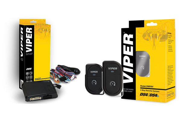Large image of Viper DS4 Remote Start System and 2-Way 1-Button Remote Add-On Package - DEIPACK5