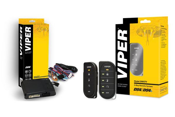 Viper DS4 Remote Start System with 2-Way 5-Button Remote Add-On Package - DEIPACK6
