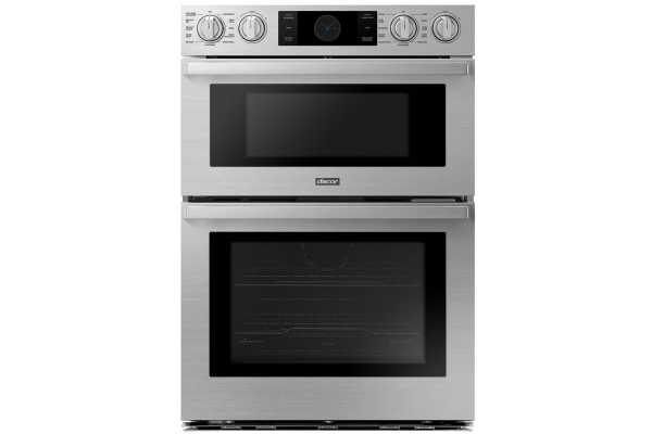 """Large image of Dacor Transitional 30"""" Silver Stainless Steel Combi Wall Oven - DOC30P977DS/DA"""