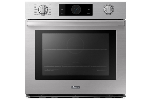 """Large image of Dacor Transitional 30"""" Silver Stainless Steel Single Wall Oven - DOB30P977SS/DA"""