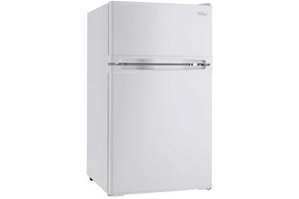 Large image of Danby Designer 3.1 Cu. Ft. White Compact Refrigerator - DCR031B1WDD