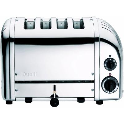 Dualit Polished Chrome 4 Slice Toaster