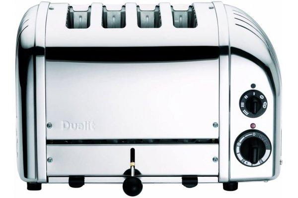 Large image of Dualit Polished Chrome 4 Slice Toaster - 47150