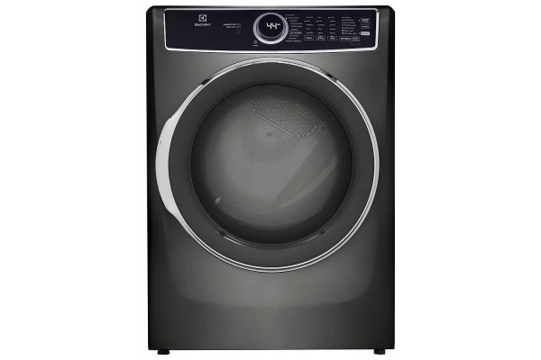 Large image of Electrolux 8 Cu. Ft. Titanium Front Load Electric Dryer - ELFE7537AT