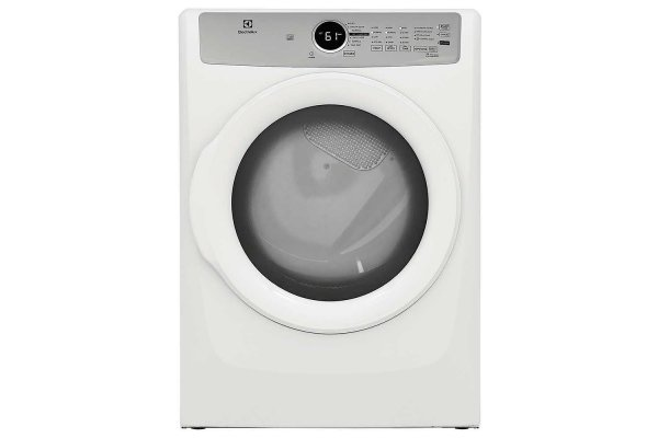 Large image of Electrolux 8 Cu. Ft. White Front Load Gas Dryer - ELFG7337AW