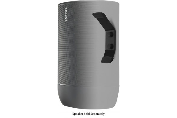 Large image of Flexson Black Sonos Move Wall Mount - FLXSMWM1021