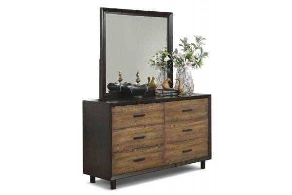 Large image of Flexsteel Alpine 6 Drawer Dresser - W1083-860