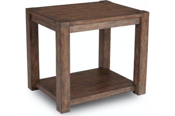 Large image of Flexsteel Boulder End Table - W1002-01