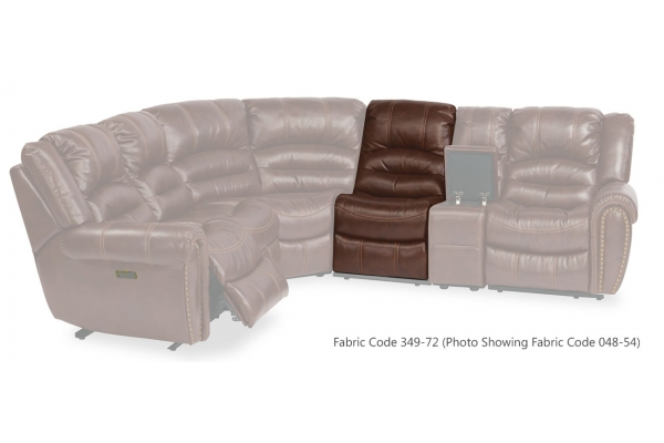 Large image of Flexsteel Town Fabric Armless Chair - 1010-19-349-72