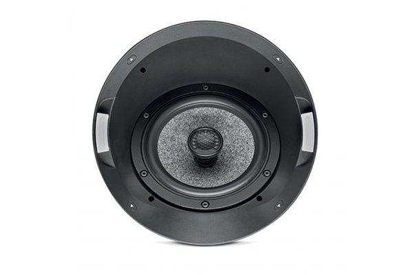 Large image of Focal 1000 ICA6 Black In-Ceiling 2-Way Coaxial Loudspeaker (Each) - F1000ICA6