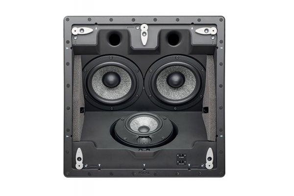 Large image of Focal 1000 ICLCR5 Black Bass-Reflex 3-Way In-Ceiling Loudspeaker (Each) - F1000ICLCR5