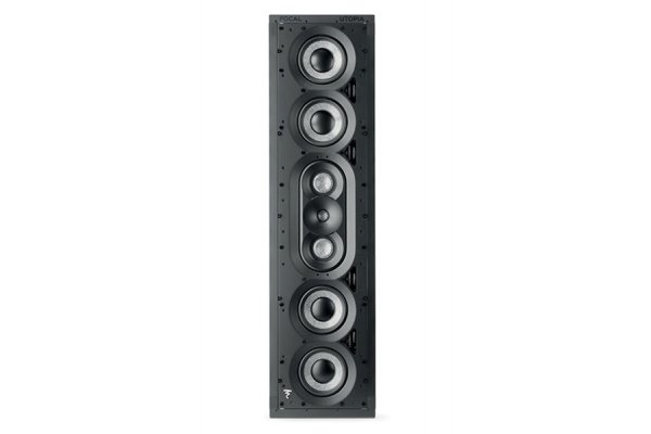 Large image of Focal 1000 IWLCR Utopia Black 3-Way In-Wall Loudspeaker (Each) - F1000IWLCRUTOPIA