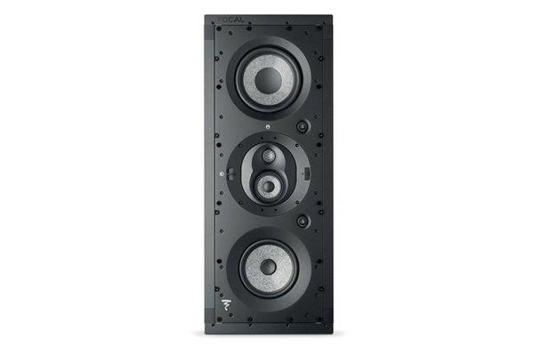 Large image of Focal 1000 IWLCR6 Black 3-Way In-Wall Loudspeaker (Each) - F1000IWLCR6