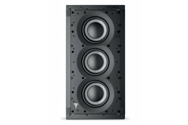 Large image of Focal 1000 IWSUB Utopia Black Passive Closed-Back Subwoofer For In-Wall Integration (Each) - F1000IWSUB