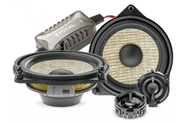 """Large image of Focal 4"""" 2-Way Component Kit With Tweeters (Pair) - IS MBZ 100"""