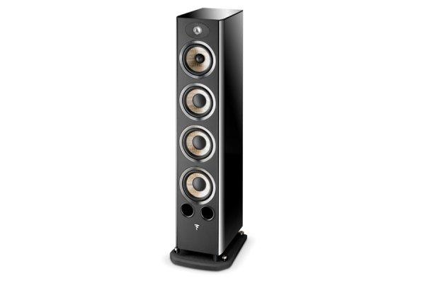 Large image of Focal Aria 936 Black High Gloss 3-Way Floor Standing Loudspeaker (Each) - JMLARIA936BPL
