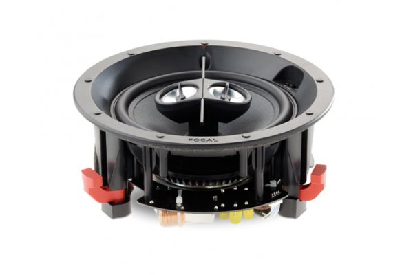 Large image of Focal 100IC6ST White In-Wall/In-Ceiling 2-Way Coaxial Loudspeakers (Each) - F100IC6ST