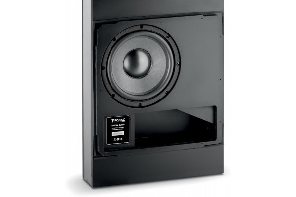 Large image of Focal 100 IWSUB8 Black In-Wall Sensational Bass (Each) - F100IWSUB8