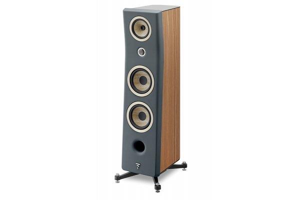 Large image of Focal Kanta N3 Dark Grey Walnut 3-Way Floor Standing Loudspeaker (Each) - JMLKANTN3-WA/DGMFRO