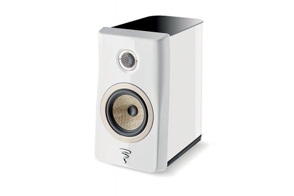 Large image of Focal Kanta N1 Carrara White 2-Way Bookshelf Loudspeaker (Each) - JMLKANTN1WH