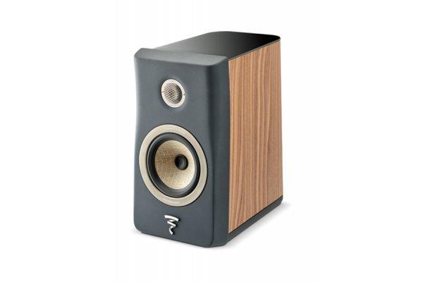 Large image of Focal Kanta N1 Dark Grey Walnut 2-Way Bookshelf Loudspeaker (Each) - JMLKANTN1-WA/DGMFRO