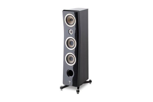 Large image of Focal Kanta N2 Black Lacquer High Gloss 3-Way Floor Standing Loudspeaker (Each) - JMLKANTN2-BHG/BHGFRO