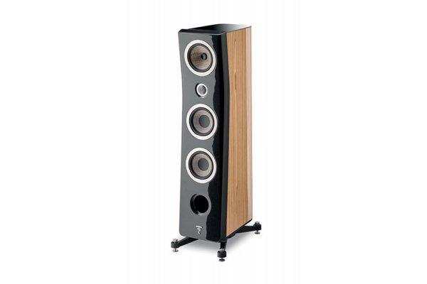 Large image of Focal Kanta N2 Black Lacquer Walnut 3-Way Floor Standing Loudspeaker (Each) - JMLKANTN2-WAHG/BHG